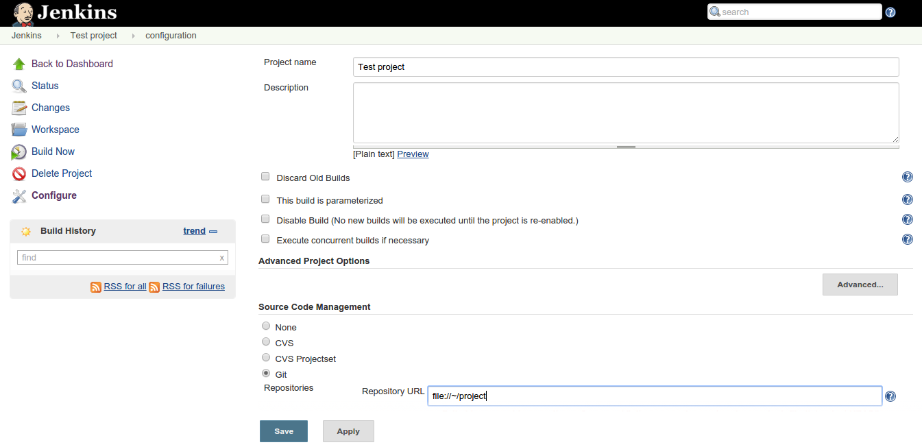 Continuous integration workflow with MATLAB, Git and Jenkins